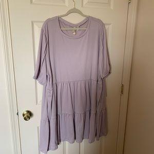 Lilac short dress